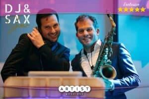 DJ & Sax Show