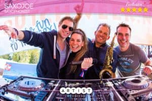Saxojoe and Friends boeken bij Artist Bookings